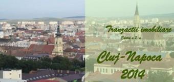 84,5% din tranzacțiile cu proprietăți imobiliare de anul trecut din Cluj-Napoca au fost finanțate din surse proprii