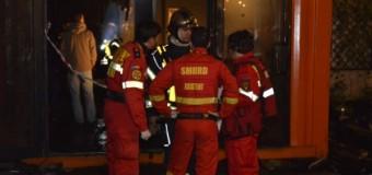 Cluj: Incendiu fără victime într-un bloc de locuințe din municipiul Câmpia Turzii