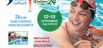 """""""Univer 24 – Sărbătoarea înotului"""", a doua ediție a evenimentului de înot de 24h  organizat sub deviza """"Toți pentru înot și înot pentru toți!"""""""