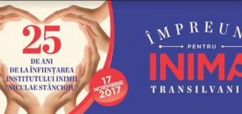 """""""Împreună pentru Inima Transilvaniei"""", evenimentul caritabil ce sprijină, în fiecare an, Institutul Inimii din Cluj Napoca"""