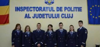 IPJ Cluj are 7 noi ofiţeri, absolvenţi ai Academiei de Poliţie din Bucureşti