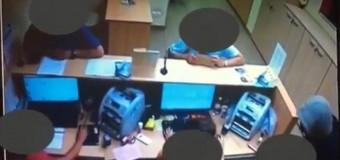 [Video] Jaf armat la o bancă din Dâmbu Rotund. Poliștii cer ajutorul cetățenilor pentru identificarea făptașului.