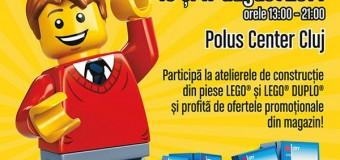 Cel mai mare magazin LEGO® din România se deschide la Polus Center Cluj