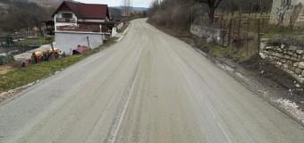 Lucrările pe drumul județean 109S (DJ 109A) Deușu – Sânmărtin – Giula au fost reluate.