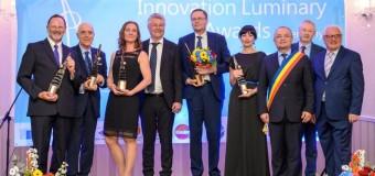 """Premiile europene pentru inovare """"Luminary Awards"""" 2017, decernate în  cadrul unei gale organizate la Cluj-Napoca. Doi dintre premianți sunt din Cluj-Napoca"""