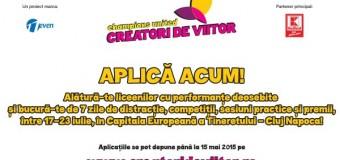 """Cei mai buni liceeni se întâlnesc la Cluj în cadrul evenimentului """"Creatori de Viitor –Champions United"""""""