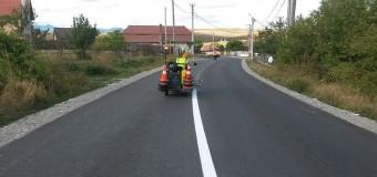 Consiliul Județean Cluj anunță lucrări de marcaje rutiere pe mai multe drumuri judeţene