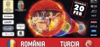 Nationala feminina a Romaniei incepe pregatirile la Cluj-Napoca pentru meciul cu Turcia, din 20.02.2016, ora 19:00