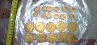 22 de monede din aur ale patrimoniului cultural naţional descoperite la Cluj-Napoca. Au ajuns la Direcţia pentru Cultură Cluj