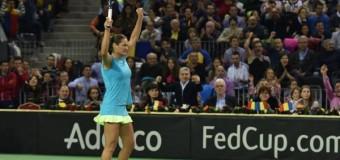 Fed Cup România -Cehia: 1-1. Niculescu câştigă meciul cu Petra Kvitova