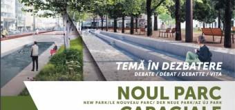 Clujenii, invitati la o dezbatere a CIIC despre noul parc Caragiale.