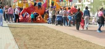 [Foto] Floreşti: Al doilea parc de joacă a fost inaugurat în Cetatea Fetei