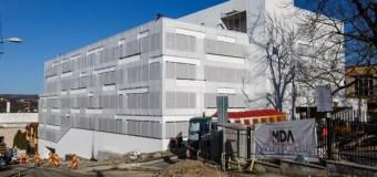 Cluj-Napoca: Un nou parking aproape de finalizare.