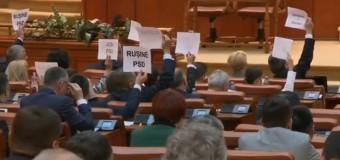 Moțiunea de cenzură împotriva Guvernului Grindeanu a trecut cu 241 de voturi. PSD și-a dat jos propriul Guvern