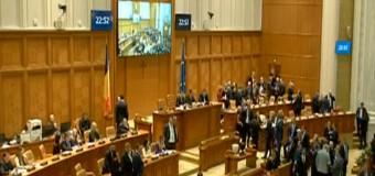 Guvernul Orban a fost demis. Moțiunea de cenzură a fost votată cu 261 de voturi.