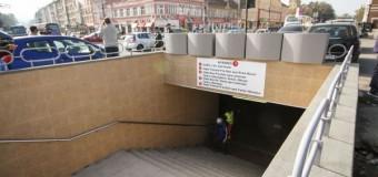 Pasajul pietonal subteran din Piaţa Gării este finalizat