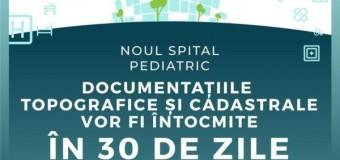 Spitalul Pediatric Monobloc – încă un pas pentru documentații.