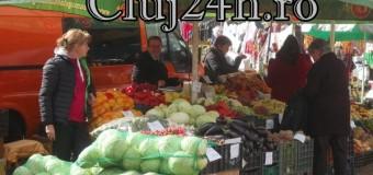 Razie a polițiștilor clujeni: 656 de kilograme de legume și fructe confiscate și amenzi de 14.000 de lei