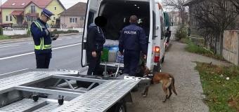 Razie la Dej: polițiștii au aplicat a peste 70 de sancțiuni contravenționale iar peste 100 de autovehicule au fost verificate