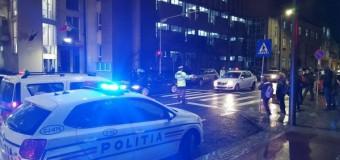 Floreșteancă lovită pe trecerea de pietoni după ce un șofer nu a păstrat distanța și a intrat în mașina oprită la trecere