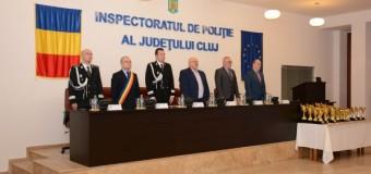 Cei mai merituoşi poliţişti şi cele mai eficiente structuri din cadrul Inspectoratului de Poliţie Judeţean Cluj în anul 2016