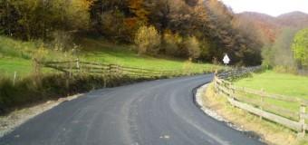 Noua rută de acces spre zona turistică Răchiţele – Prislop – Ic Ponor a fost integral asfaltată