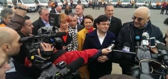 Alte 48 de ambulanţe au plecat de la Cluj, spre serviciile UPU din ţară