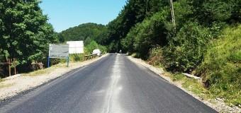 S-a finalizat asfaltarea unui nou tronson al drumului județean Scrind – Răchițele