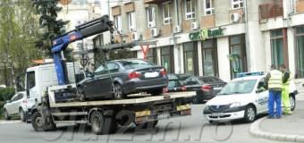 Din 9 februarie 2017 se ridică mașinile parcate neregulamentar