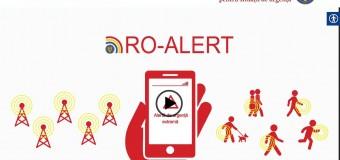 Lansarea ro-alert.ro – portalul de informare dedicat Sistemului RO-ALERT