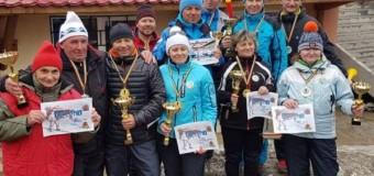 Salvamont Cluj, pe podium la concursul național de ski Cupa Veteranilor