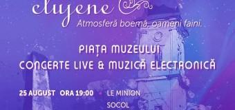 """Concerte live și muzică electronică în Piața Muzeului în cadrul """"Seri de vară clujene"""""""