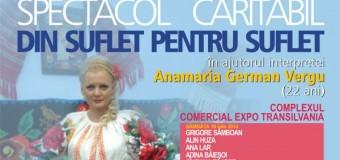 Concert caritabil pentru Anamaria German Vergu