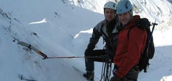 Zoltán Szénási și Alpár Katona vor traversa pe schiuri cel mai mare ghețar din Europa în scop caritabil