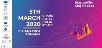 StartupCity Cluj-Napoca Martie 2020 – o serie de evenimente de inovare în parteneriat cu instituțiile europene