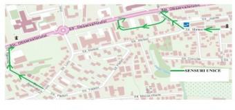 Primăria Cluj-Napoca anunță noi măsuri de circulație pe strada Observatorului. Afă de când intră în vigoare.