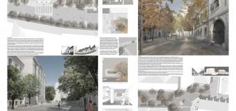Acestea sunt proiectele castigatoare in concursul de solutii privind amenajarea strazii Koganiceanu, Universitatii si strazi adiacente