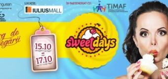 """Târgul de dulciuri """"Sweet Days"""" ajunge din nou la Cluj în cadrul TiMAF"""