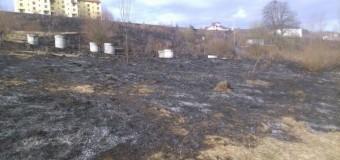 UPDATE :[Foto] Aşa se face curăţenia de primăvară la Floreşti?? Cum să dai foc la o suprafaţă imensă de teren?