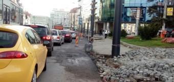 Atenţie şooferi! Primăria Cluj-Napoca anunţă continuarea lucrărilor de modernizare pe Splaiul Independenței