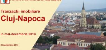 Primul ghid imobiliar local realizat pe baza pe tranzacţiilor  reale efectuate în piaţă, lansat în Cluj-Napoca