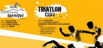 Traversarea Tarniţei – 30 iulie 2016 / ediția a 10-a și Triatlon Cluj 31 iulie 2016 / ediția a 3-a