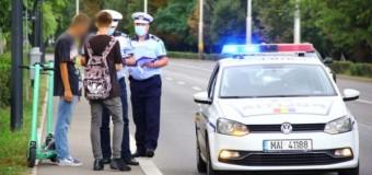 Acțiune a polițiștilor: zeci de sancțiuni aplicate.