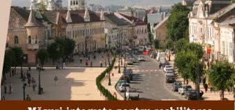 Primăria Turda se pregăteşte pentru reabilitarea şi revitalizarea economică a centrului istoric.