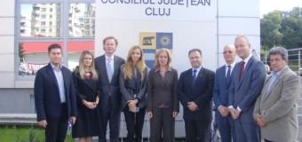 Delegaţie olandeză, în vizită la Consiliul Judeţean Cluj