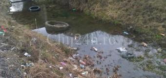 Valea NIMĂNUI. O imagine dezolantă, aproape o groapă de gunoi.