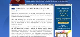 Prima postare pe blogul lui Voiculescu după arestarea lui. Vezi ce mesaj a tansmis
