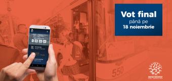 Ultimele 6 zile de vot la Bugetare participativă Cluj-Napoca 2018