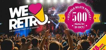 WE LOVE RETRO: Cel mai așteptat festival de muzică retro din România, în această sâmbătă la Cluj-Napoca!