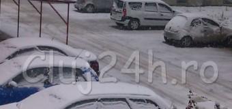Atentie clujeni! Primaria Cluj-Napoca a demarat verificarile privind curatarea trotuarelor de zapada. Amenzi intre 500 si 1000 lei.